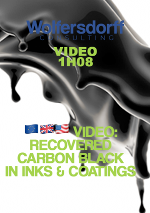 recovered carbon black in inks & coatings