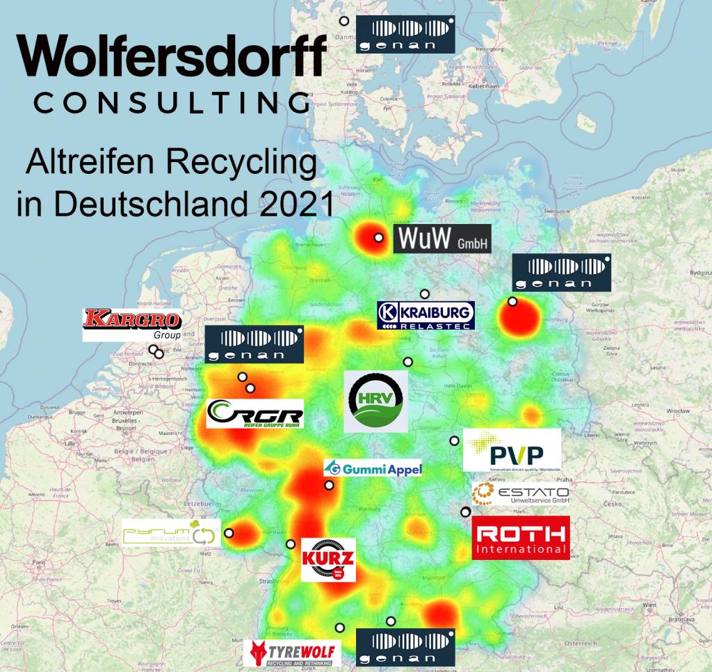 Altreifen Recycling in Deutschland